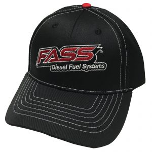 Fass DFS Hat Black/Red Logo