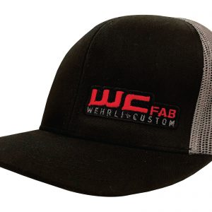 Wehrli Hat Black/Grey Mesh/Red Logo