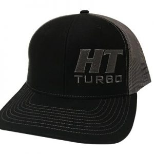 High Tech Turbo Trucker Hat - Gry/Blk-0