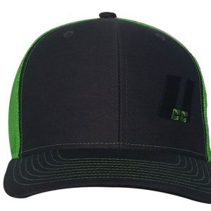 UCC Charcoal/Green Mesh Snap Back Hat-0