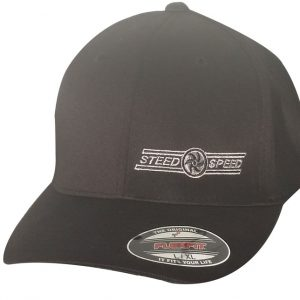 Steed Speed Black Flexfit Hat-0